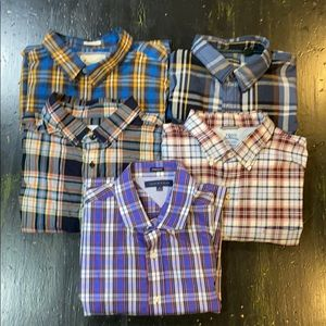 5 for $45 Button-up Shirts (lot) XL & XXL